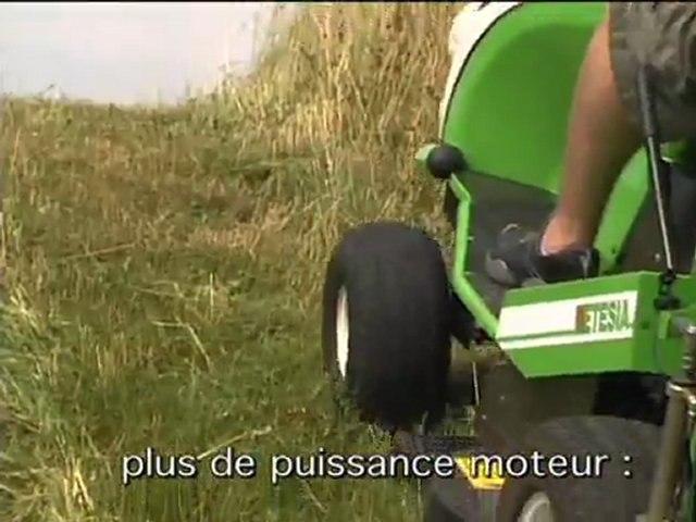 ETESIA Hydro 100 Evolution la référence des tondeuses gazon autoportées