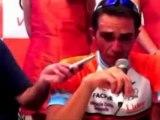 Deportes: Ciclismo; Contador, a 49 segundos de ganar el tour de San Luis