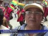 Bolivie: des indiens réclament la construction d'une route