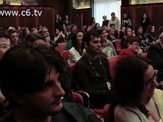Andrea Camilleri e Margherita Hack al CNR con Serena Dandini