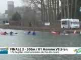 FINALE 2 (200m) K1 HOMME VETERAN - REGATE INTERNATIONALE DU PAS-DE-CALAIS 2012