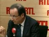François Hollande, candidat socialiste à la Présidentielle, répondait aux questions des auditeurs de RTL mercredi matin