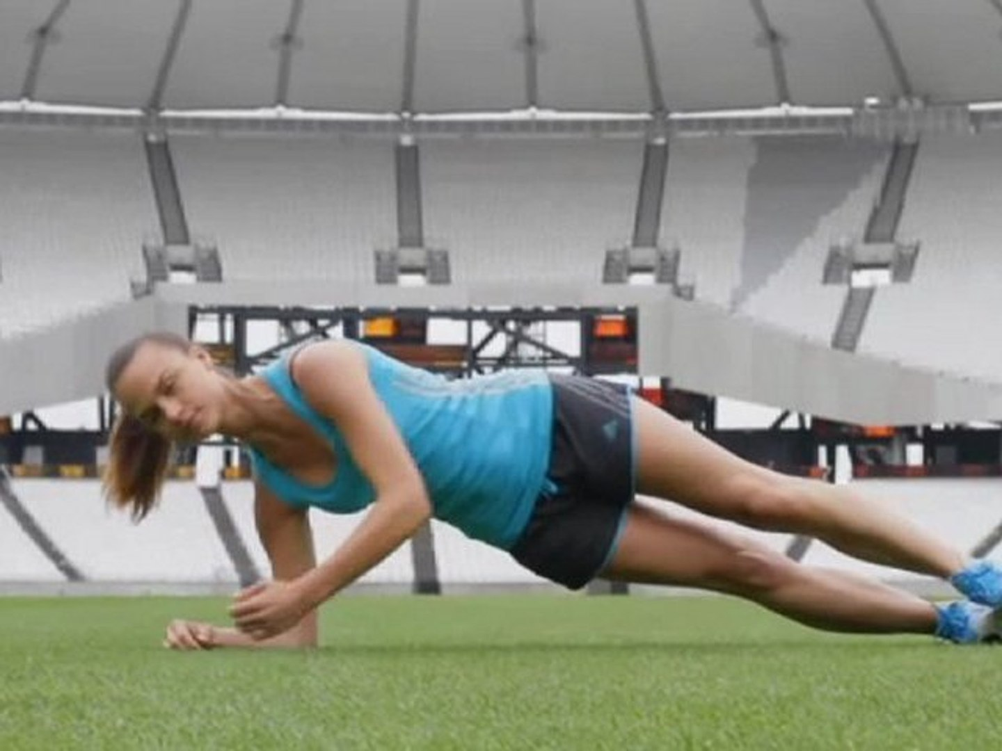 Grazia's Medal Winning Workout: PLANKS