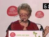 L'appel des 3000 - Intervention d'Eva Joly, candidate d'Europe Ecologie Les Verts au 36ème congrès de France Nature Environnement