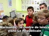 Marmande: le centre loisirs en visite au Républicain