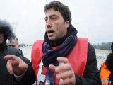 Hôtel-Dieu du Creusot : RCEA bloquée à Montchanin le 1er février 2012