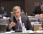 ce matin, en commission des lois, j'ai présenté mes rapports sur l'application de 3 lois dont j'ai été rapporteur