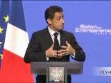 Discours de N. Sarkozy au Salon des Entrepreneurs