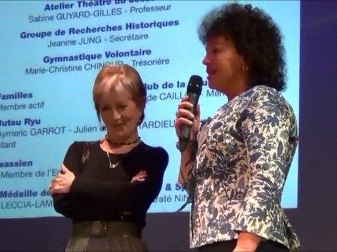 Voeux 2012  Tableau d'honneur des associations