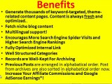 Make Money Blog   Auto-Blog Builder