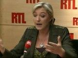 """Marine Le Pen, candidate du Front National à la Présidentielle : """"Monsieur Aphatie, vous entrez dans des polémiques ignobles !"""""""