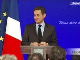 SARKOZY DRAGUE LES JOURNALISTES !