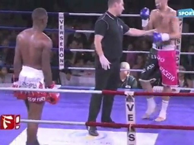 Championnat du monde kick-boxing Ludovic Millet (FR) vs Tim Thomas (UK)