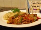 Recette du poulet sauce curry facile et rapide