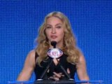 Madonna dedicates Super Bowl show to her dad