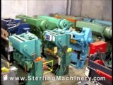 44 Ton Used Heller/Ficep Hydraulic Ironworker, Mdl. ...