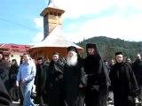 Parintele Justin Parvu de Sfintele Pasti la Manastirea de Maici de la Petru Voda