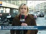 """Marine Le Pen sur BFMTV : """"le Président de la République table sur mon absence"""""""