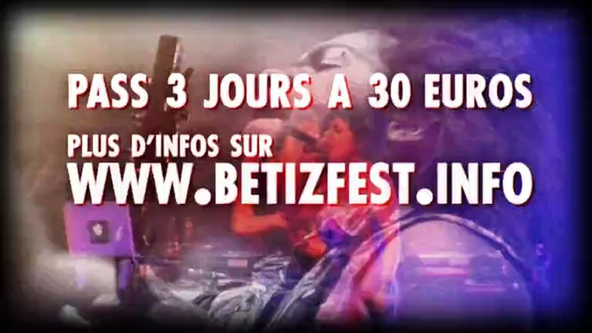 Teaser BetiZFest 2012 (2, 3 et 4 mars 2012 a Cambrai)