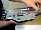 Swiftech & EVGA Classified GeForce GTX 590 Water Block Unboxing & First Look Linus Tech Tips