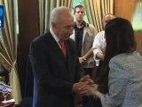 Shimon Peres lanza un periódico digital