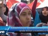 Estados Unidos  amenaza con suspender la ayuda militar y económica a Egipto