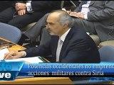 Potencias occidentales no emprenderán acciones  militares contra Siria