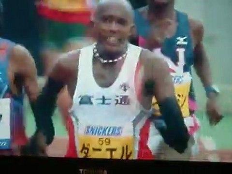2012(第66回)香川丸亀国際ハーフマラソン 男子フィニッシュシーン