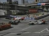 CART Vancouver 1997 Pile up + Big crash Pruett
