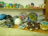 artisanat de la Réunion au marché couvert de Saint Paul, Chez Guylène