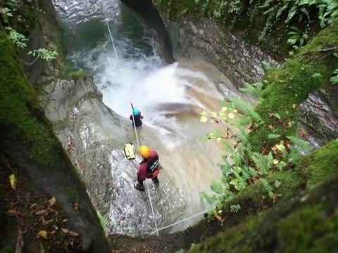 Canyon du Ternèze, Chambéry massif des Bauges | Vertical Aventure