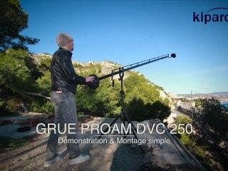 Test et démonstration Grue ProAm DVC 250
