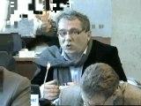 Patrick MOLINOZ. Plan départemental d'élimination des déchets. Session du 3 férvier 2012 du Conseil général de la Côte-d'Or (déchets 4)