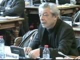 Alain MILLOT. Plan départemental d'élimination des déchets. Session du 3 février 2012 du Conseil général de la Côte-d'Or  (déchets 3)