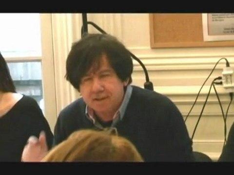 Ouverture de la journée d'étude de CIAP du 21 janvier 2012