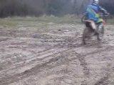 weeling en moto cross