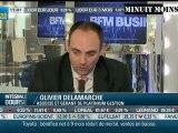 Olivier Delamarche - 20% de chômage aux Usa - BFM Business - 07/02/2012