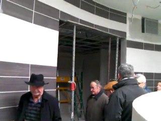 Visite de l'espace bien-être de Diabolo, le futur centre aquatique du canton de Bourg-de-Péage