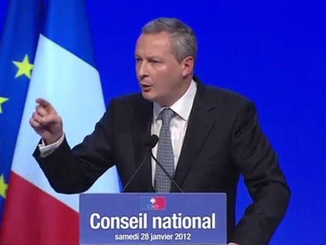 UMP - Bruno Le Maire - Conseil national