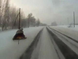 extreme tubing neige