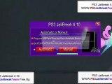 SONY PS3 Jailbreak 4.10 - PS3 Custom firmware 4.10-JB USB