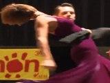 TELETHON 2011 : Valse au Gala de danse de Cahors (Lot-46) avec Grégory participant de danse avec les stars
