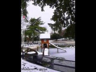 Yıldız Parkı'nda Kış- Video Çekimler