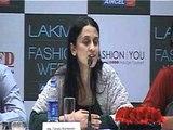 Lakme Fashion Week 2012 Press Conference