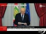 """Napolitano: ricordare le Foibe, perché non si ripeta - VideoDoc. Il Presidente: """"Renderò omaggio alle vittime di Porzus"""""""