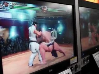 Behind the Scenes  de Virtua Fighter 5 Final Showdown