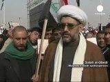 Irak: les partisans de Moqtada Sadr fête le retrait...