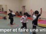 Utilisation des parcours en Wushu   pour les enfants de 6 10 ans