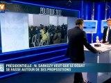 Présidentielle : Nicolas Sarkozy veut que le débat se fasse autour de ses propositions
