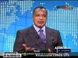 Visite de la chaine de télévision Africa24 par Denis Sassou N'Guesso